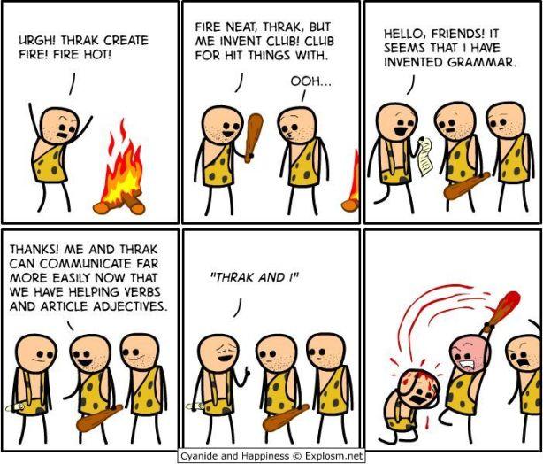 I invented grammar