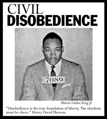 Civil disobedience thesis statement