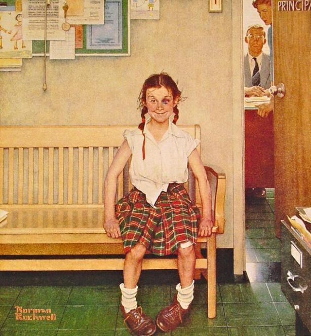 Rockwell, Girl with Black Eye 1953.jpg